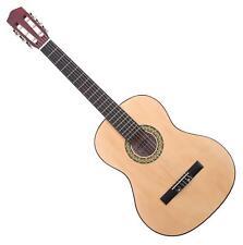 Klassik Gitarre 7/8 für Linkshänder Akustik Left Hand Nylonsaiten