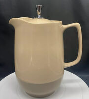 """Vintage Mid Century Dinex Camping Carafe King Seeley Thermos Pitcher 9"""" H"""