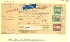 NED NW GUINEA NNG 1960-11-13 ADRES KAART  PER LP  BIAK-MANOKWARI