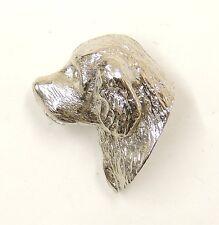 Clumber Spaniel Lapel Pin/Brooch