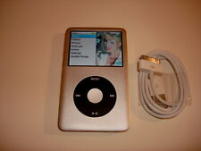 Apple Ipod Classic 7Th Gen. CustOm Silver/Black 120Gb.New Battery.