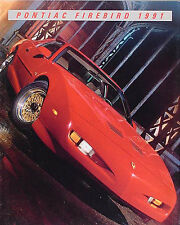 1991 Pontiac Firebird and Trans Am Color Sales Literature 91 Formula GTA