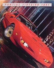 1991 Pontiac Firebird and Trans Am Color Sales Literature 91 Formula GTA
