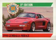 1990 Gemballa Mirage, Dream Cars Trading Card, Sports Automobile -- Not Postcard