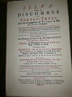 silva or a discourse of forest trees .facsimile of the 5th edition of 1729