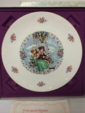 Royal Doulton England Saint Valentine's Rome Terni Day 1980 Collector Plate