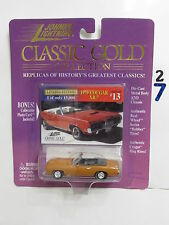 JOHNNY  LIGHTNING 1998 - CLASSIC GOLD COLLECTION  1970 COUGAR XR-7