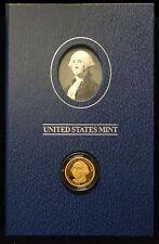 2007 GEORGE WASHINGTON PRESIDENTIAL DOLLAR PROOF COIN SIGNATURE SET XJ1 SEALED!