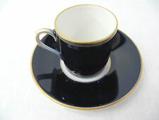 ROSENTHAL - SELB GERMANY - DEMITASSE CUP AND SAUCER - COBALT BLUE