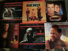Lot de 61 laserdisc en VO, principalement widescreen edition