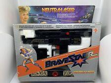 Neutra-Laser Bravestarr Vintage Mattel Pistole Gun TOP