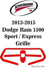 3M Scotchgard Paint Protection Film Pre-Cut 2013 2014 2015 Dodge Ram 1500 Sport