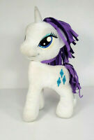 My Little Pony Rarity Unicorn Plush 12 Inch White Purple Mane Tail