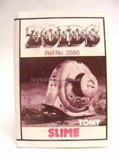 Zoids Zoid Vintage OER Instruction Sheet Fiche Slime Original