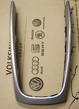 Abdeckrahmen Mittelkonsole Original Audi Q5 Tuning aluminiumsilber-gebürstet OVP