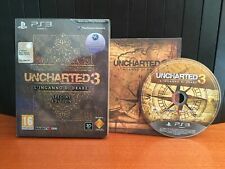 UNCHARTED 3 L'INGANNO DI DRAKE SPECIAL EDITION PAL ITA PS3 COMPLETO