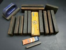 Lot of Combination Bench Stones Norton Sharpening Honing Machinist Knife Tool