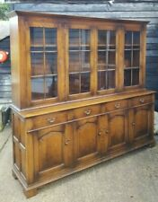 TOP QUALITY SOLID OAK TITCHMARSH & GOODWIN BOOKCASE