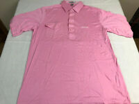 Titleist Golf Shirt Mens Size Large Pink Embroidered White Titleist Logo NEW