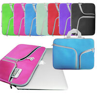 Neoprene Zip BAG with Pockets Sleeve Cover for 13-inch Apple MacBook AIR / PRO