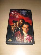 L'Homme au masque de fer VHS (The Man in the Iron Mask) Leonardo DiCaprio