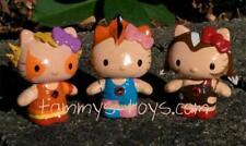 """CUSTOM THUNDERKITTY Cheetara Wilykit Pumyra 2.5"""" Figure Hello Kitty Thundercats"""