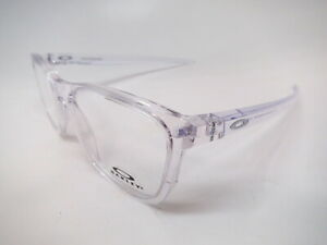 New Authentic Oakley CenterBoard OX 8163-0353 Polished Clear Eyeglasses 53mm