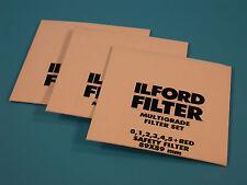 ILFORD Multigrade X3 - 89X89mm Filter Set - NEW - SEALED