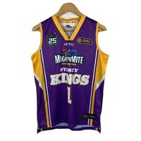 Sydney Kings Basketball Jersey Mens Size Small 25th Year Anniversary 2013 Signed