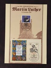 Germany DDR - 1985  - 5OOth Birth Anniv of Martin Luther  Stamps CTO