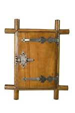 Antique Sorento Olive Wood Travel Picture Frame, Italian.