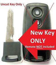 New uncut replacement key blade for Suzuki KBRTS003 O.E.M. transmitter smartkey