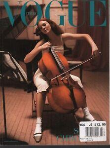 Vogue Italia Fashion Magazine April 1999 Bruce Weber Alberta Ferretti 090420ame