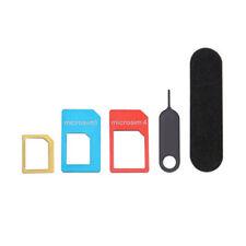 1*Micro Card Adaptor Converter to Standard Sim for Mobile Phone Card Holder JU6