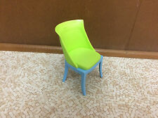 Barbie Doll My Dream House Decor Collection Bedroom Vanity Green Chair Furniture