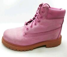 Timberland Little Kids Boots Rose Pink Sz 1 A148A Girls Youth