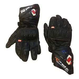 Oxford RP-1 Motorcycle Leather Gloves Black Size 2XL