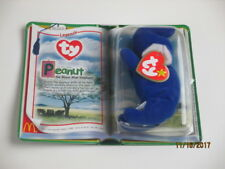 McDonalds Legend Peanut The Royal Blue Elephant TY Beanie Baby 1995 Retired