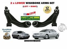 FOR FORD MONDEO ST220 3.0 2002-2007 NEW 2x LOWER LEFT + RIGHT WISHBONE ARM SET