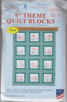 1 Jack Dempsey Campers Stamped Embroidery Quilt Blocks