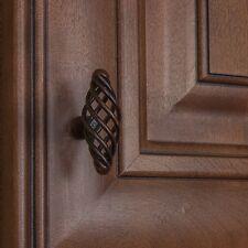"3041-ORB - 2"" Oval Birdcage Cabinet Dresser Knob - Oil Rubbed Bronze"