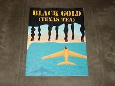 XTR Corp 1990 - BLACK GOLD game - (TEXAS TEA) Axis Won WW2 (Unpunched)