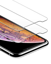 GlassGuard Screen Protector Pk For iPhone X, Xs, Bubble Free Tempered Glass Film