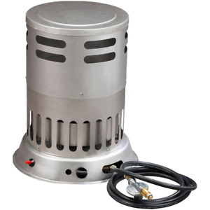 80,000 BTU Portable Single Convection Heater with 10 ft Hose 3 Heat Settings