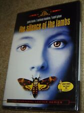 THE SILENCE OF THE LAMBS DVD, NEW & SEALED,WINNER 5 ACADEMY AWARDS, FULL SCREEN