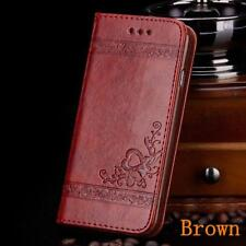 USA Luxury Leather Flip Card Wallet Phone Case Cover Stand for Samsung Galaxy S7