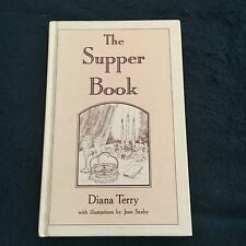 DIANA TERRY SIGNED BOOK, THE SUPPER BOOK. 0868241318