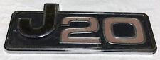 1970s JEEP GLADIATOR/HONCHO J20 FRONT FENDER NAMEPLATE EMBLEM/BADGE