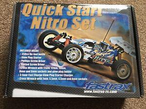 New Fastrax Quick Start Nitro Set Fast 691 Euro Plug Radio Control Car Aeroplane