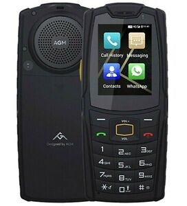 """AGM M7 RUGGED US VERSION 8gb Waterproof 2.4"""" Wi-Fi Dual Sim Android 8.0 4g LTE"""
